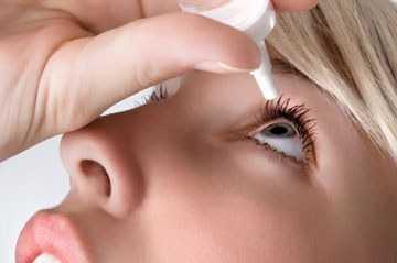 Эффект сухого глаза симптомы