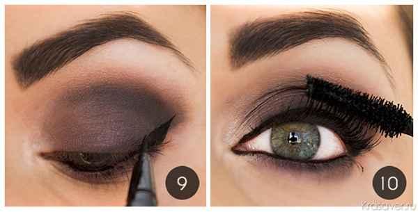 Как накрасить глаза в домашних условиях пошагово 53