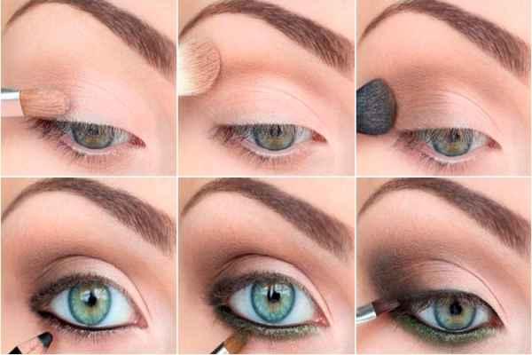 Макияж для серых глаз серыми тенями пошагово