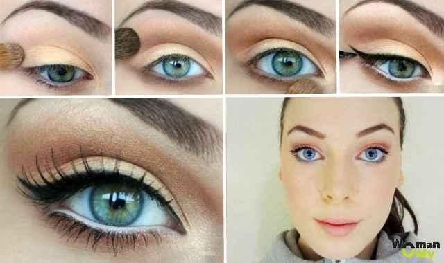 Как сделать макияж глаз чтобы были большими 710