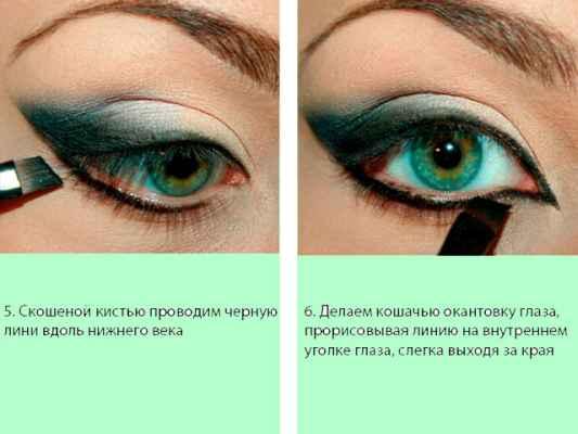 Макияж глаз пошаговое с описанием и