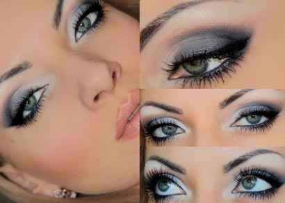 Макияж для серо голубых глаз и пепельных волос