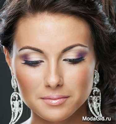 Идеи свадебного макияжа для брюнеток фото