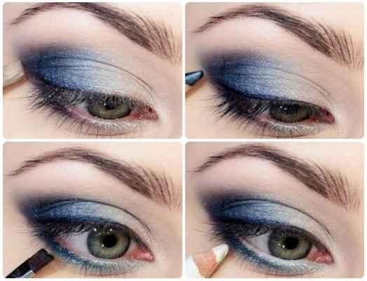 Красивый макияж для серых глаз пошагово фото