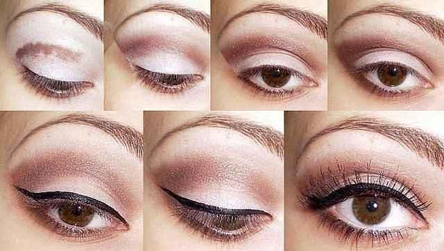 Мастер-класс макияжа карие глаза