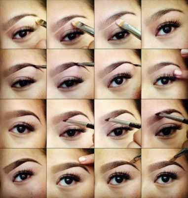макияж на свадьбу для карих глаз фото по каждому этапу