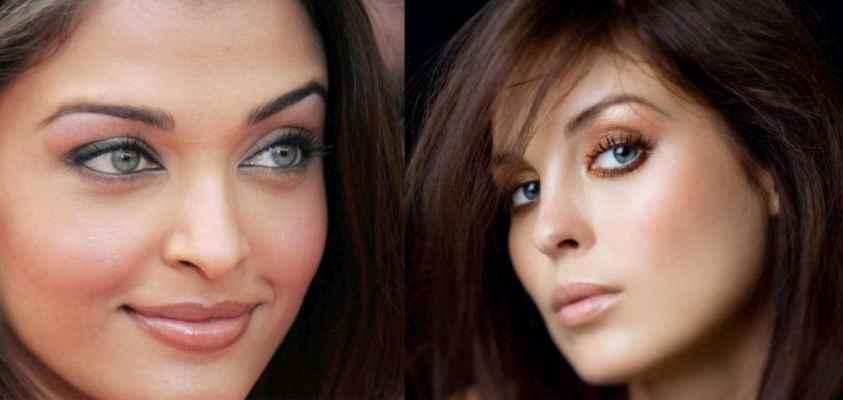 Для серых глаз макияж брюнеткам