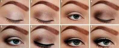 Как красить маленькие глаза чтобы они казались больше