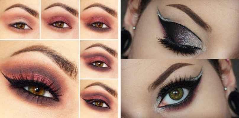 Макияж в бордовых тонах для карих глаз Макияж для карих глаз: советы визажистов