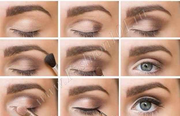 Макияж для зеленых глаз пошагово. Эффектный макияж в розовых тонах