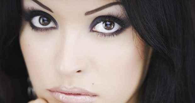 Простой макияж для больших глаз