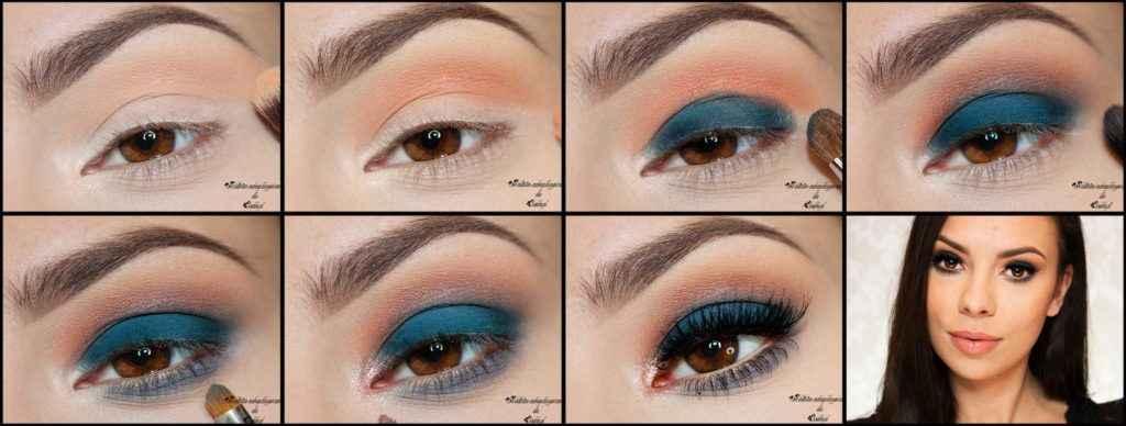 Смоки айс для голубых глаз пошаговая инструкция с