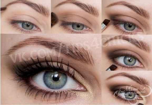 Зеленые глаза макияж на каждый день