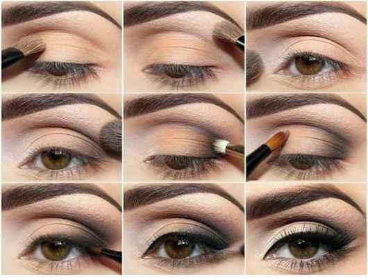 Вечерний макияж для голубых глаз пошагово, фото 2