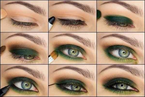 Макияж для серо зеленых глаз в домашних условиях