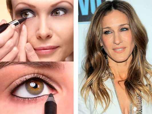 Виды макияжа для больших глаз