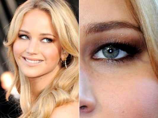 Как приподнять глаз макияж фото