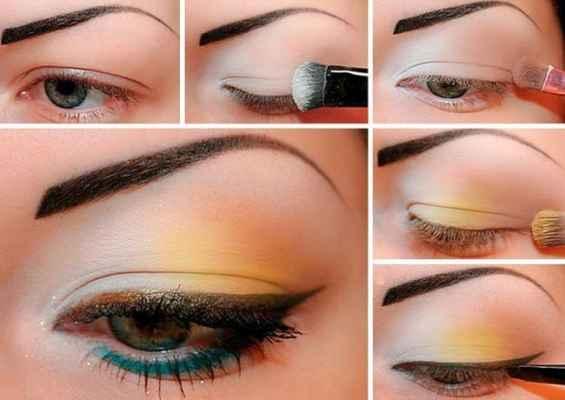 Правильно накрасить глаза пошаговое с описанием и схемами
