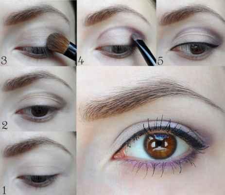 Как сделать скромный макияж 967