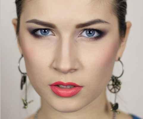 Макияж для увеличения глаз с нависшим веком