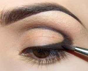 теневая техника макияжа глаз
